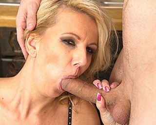 Naughty mom fucking and sucking in POV style