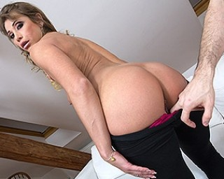 Naughty mom sucking cock and fucking in POV style