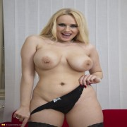 Big breasted hot mom fooling around