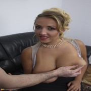 Huge breasted hot Mom does it in POV style