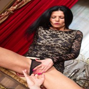 Naughty mom gets it in POV style
